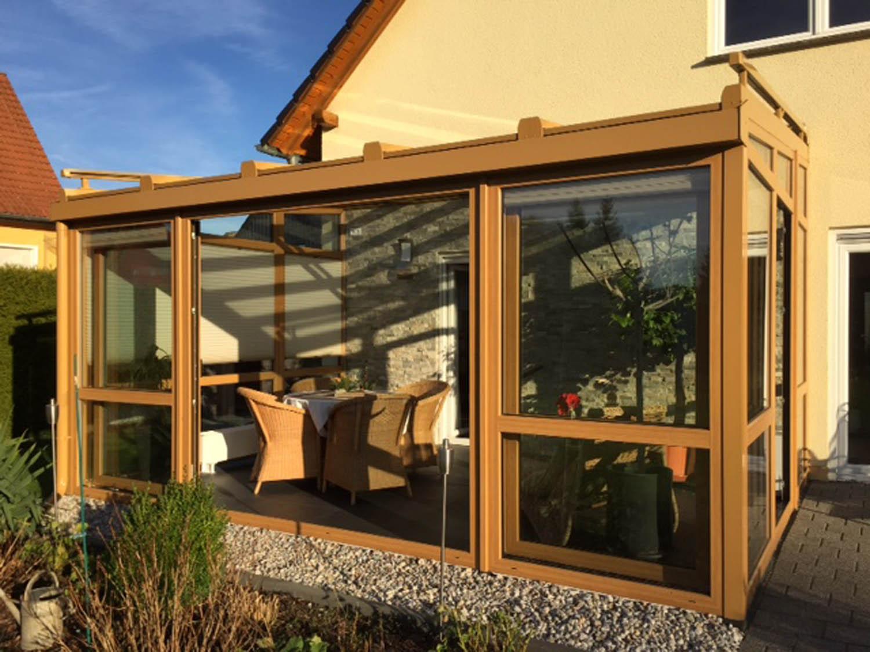 wintergarten mit glasdach winter gardens. Black Bedroom Furniture Sets. Home Design Ideas