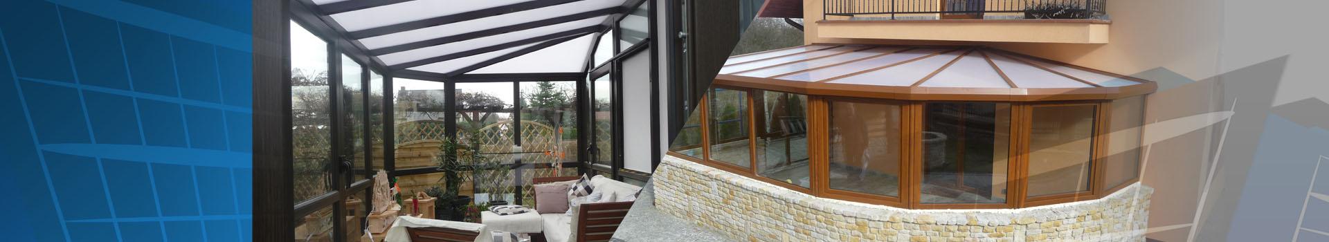 wintergarten mit polycarbonat dach winter gardens. Black Bedroom Furniture Sets. Home Design Ideas